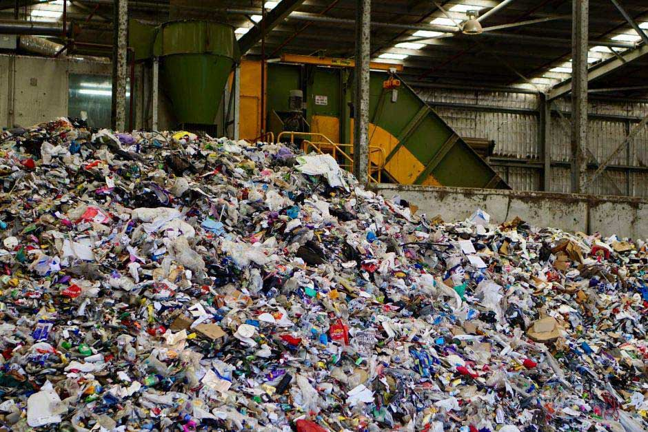 Recycling sorting plant in Australia