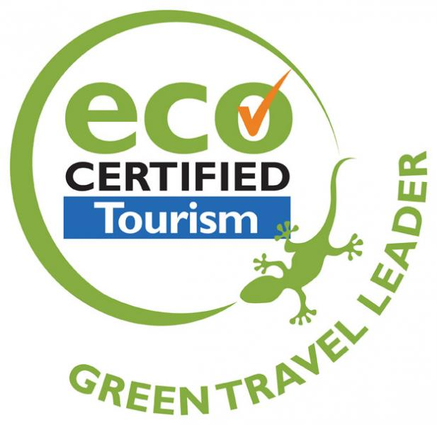 The Green Travel Leader award has been earned by the Lady Elliott Island Eco Resort for its sustainability actions in travel .